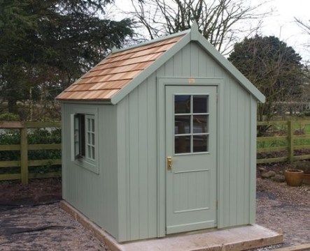 Garden Shed Ideas Wooden 43+ Best Ideas | Painted garden sheds .