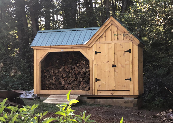 Firewood Storage Shed | Garbage Can Storage Sh