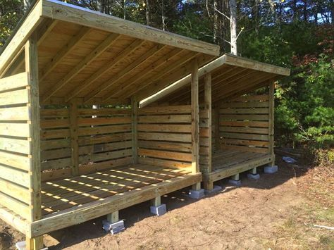 Firewood Storage Sheds To Store Wood For Winter From East Coast .