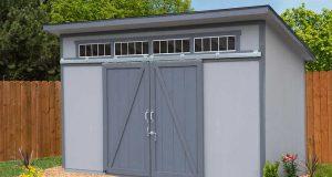 Yardline Santa Clara 12' x 8' Wood Storage Sh