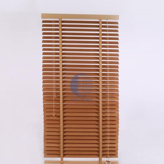 China Nanik Wood Venetian Blinds Slats - China Blinds, Wooden .