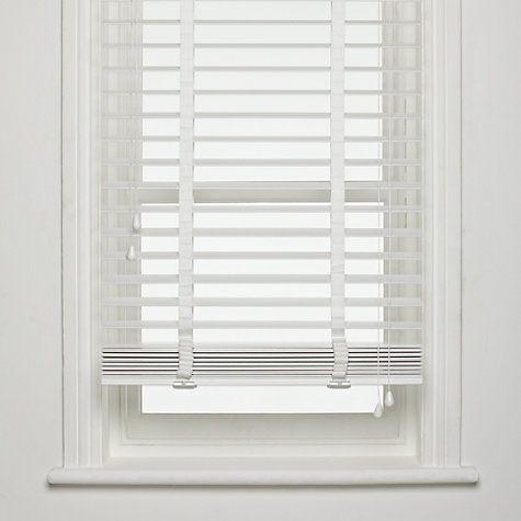 wooden venetian blinds | White wooden blinds, White wood blinds .