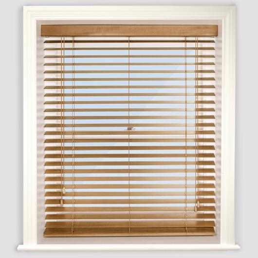 wooden window blinds premier medium oak wooden venetian blind .