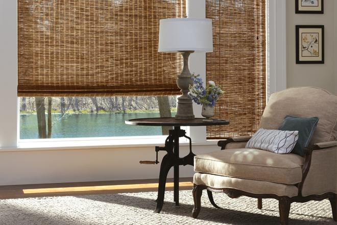 Woven Wood Shades, Environmental Blinds Denver, Golden