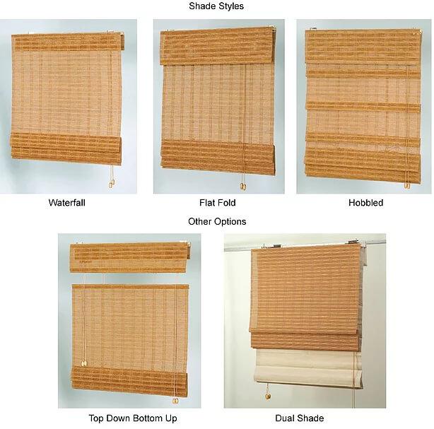 Olympia WA | Shades | Woven Wood Shades | LC Custom Interio