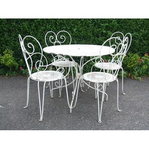 Wrought Garden Iron Furniture