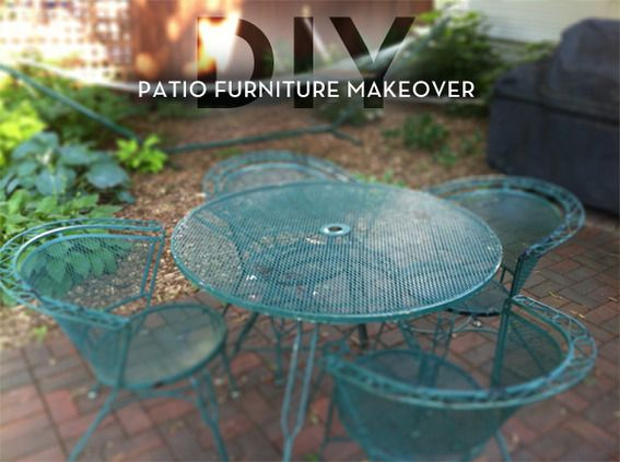 Reader Re-Do: A Colorful Patio Furniture Makeover | Curb